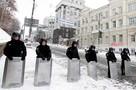 «Беркут» и внутренние войска штурмуют здание киевского горсовета