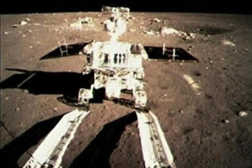 Первый китайский луноход «Юйту»