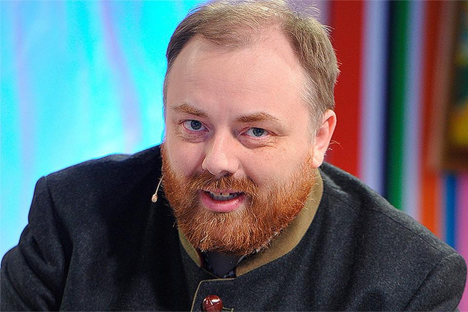 """Егор Холмогоров в студии телевидения """"КП"""""""