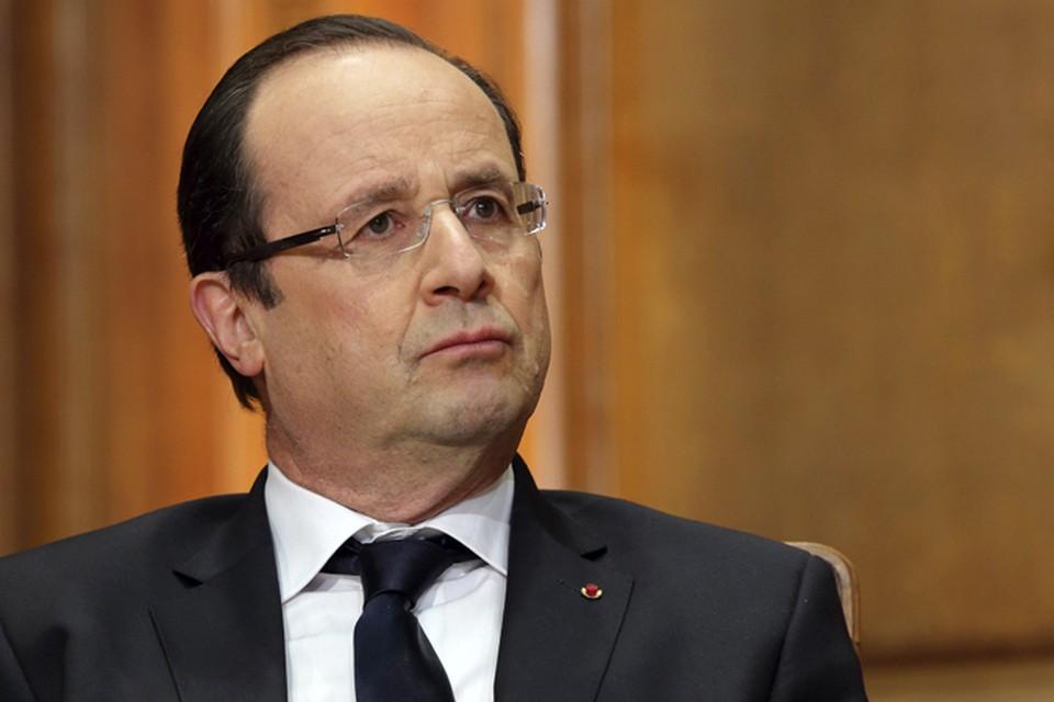 На днях оконфузившийся президент Франции держал большую пресс-конференцию