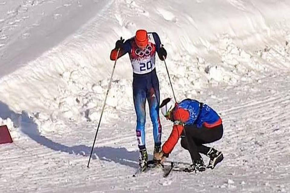 Тренер лыжной сборной Канады Джастин Уодсворт буквально спас российского спортсмена Антона Гафарова