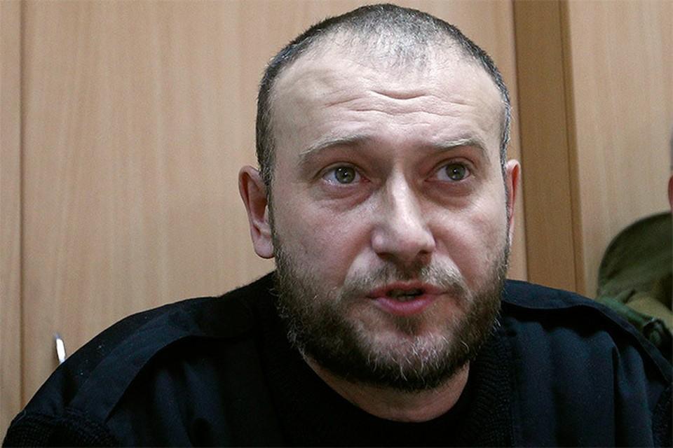 Один из лидеров украинских националистов Дмитрий Ярош