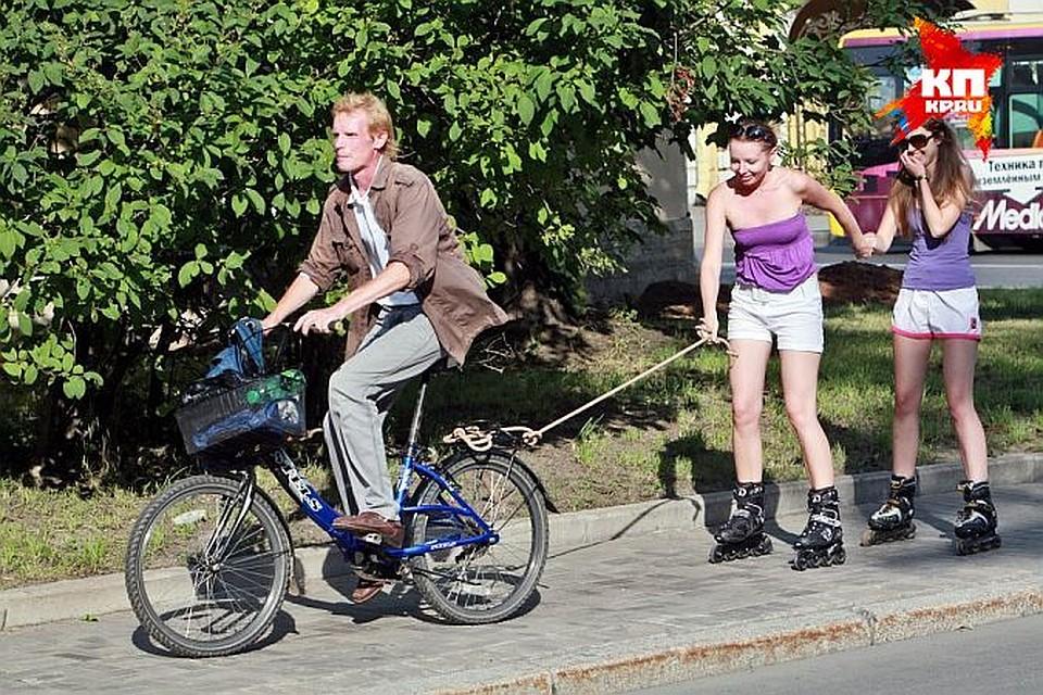 Сегодня в харькове девушка попала под велосипед