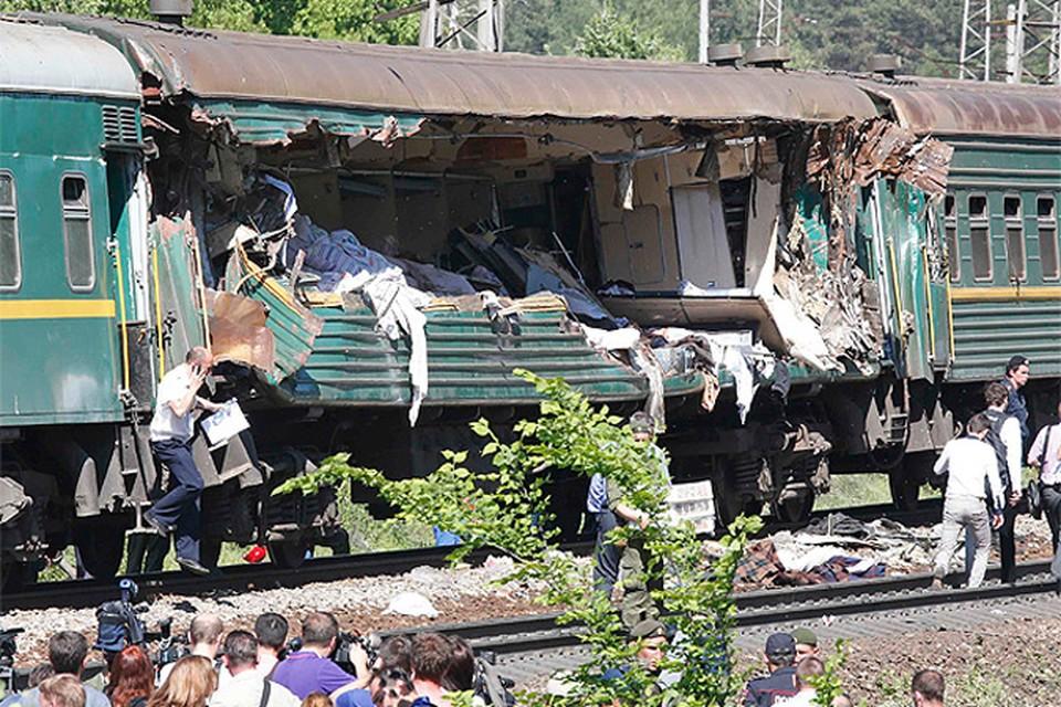 В крушении поездов в Подмосковье пострадал житель Брянска.