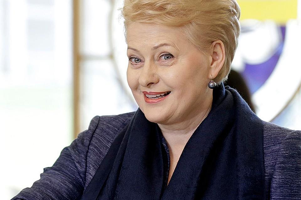 Тайное прошлое госпожи Грибаускайте Президент Литвы Даля Грибускайте