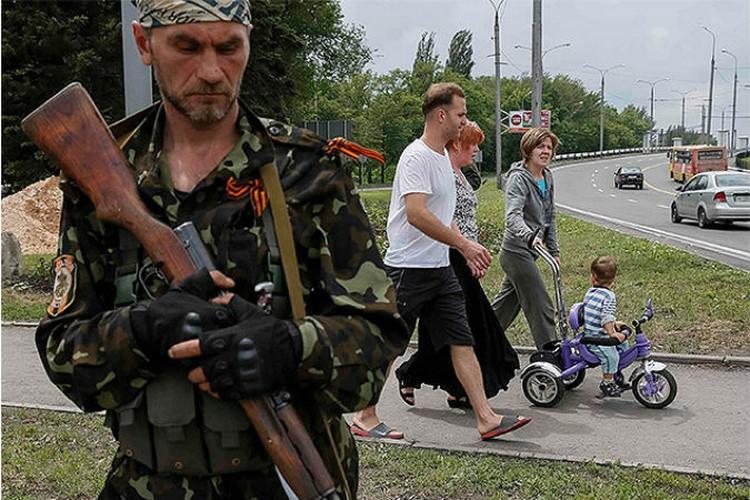 Корреспондент «КП» провел день на базе сепаратистов из батальона «Восток»