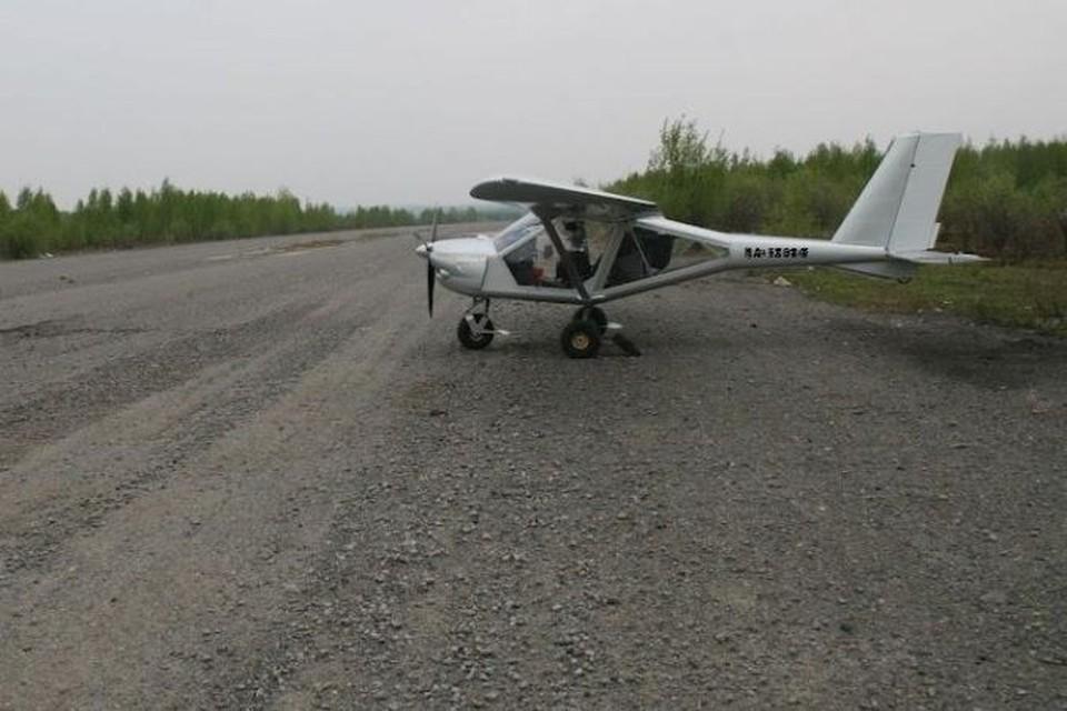 """Именно этот """"Аэропракт 22L2"""" разбился вечером 2 июня в Еврейской автономной области"""