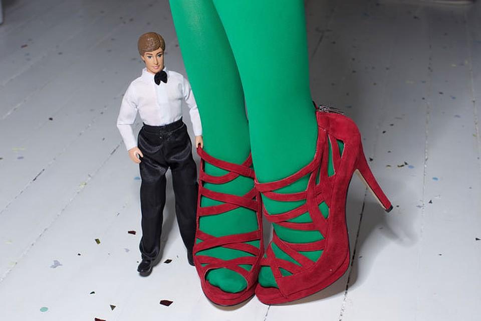 Секс с зеленой женщиной