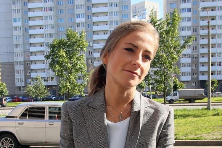 Юлия пришла на суд в хорошем настроении