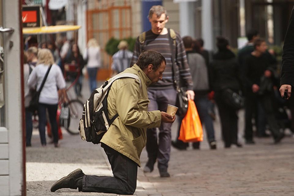 В Москве хотят начать штрафовать тех, кто подает милостыню