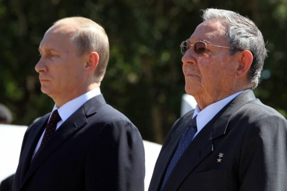"""""""Мы в очень дружеской обстановке обсудили российско-кубинские отношения"""", - сказал потом прессе Владимир Путин"""