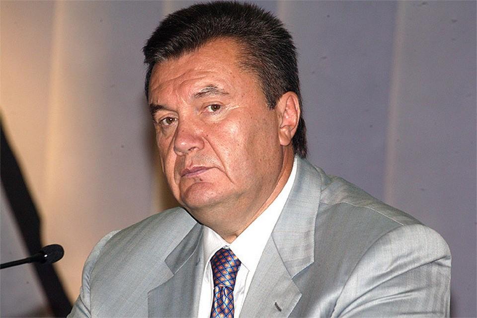 Янукович считает санкции против него несправедливыми.