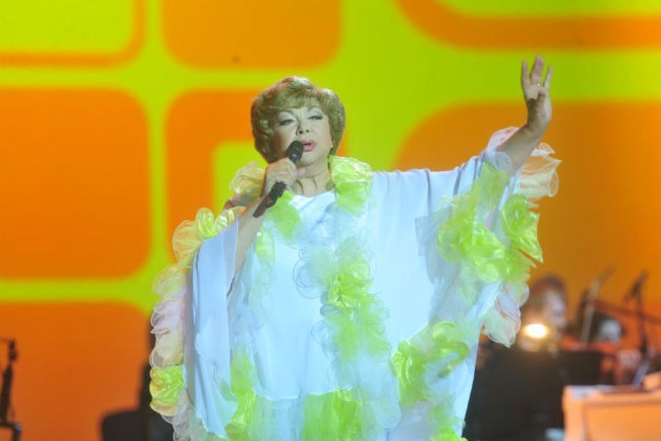 Любимая певица 31 июля отметит свой день рождения традиционным концертом.