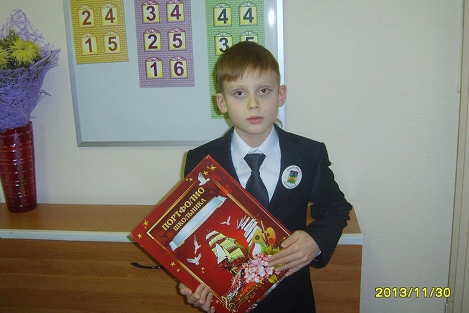 Артем Журавлев только закончил первый класс.