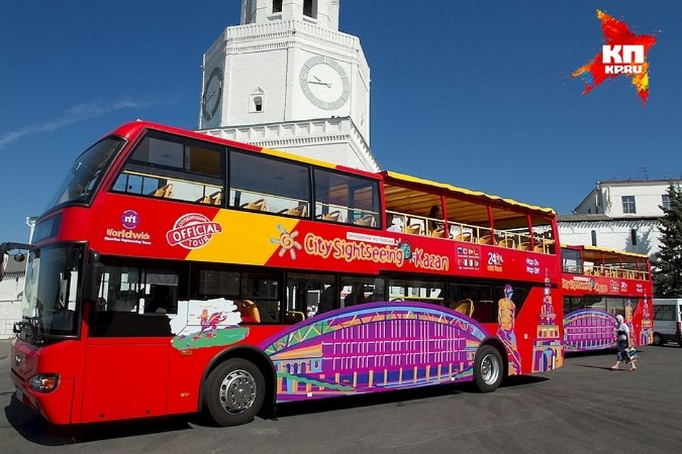 Москва. Двухэтажный автобус