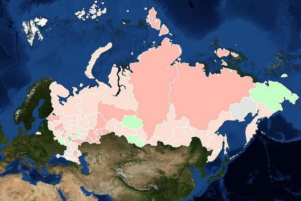 курсе: новый экологически чистые регионы россии 2015 всегда