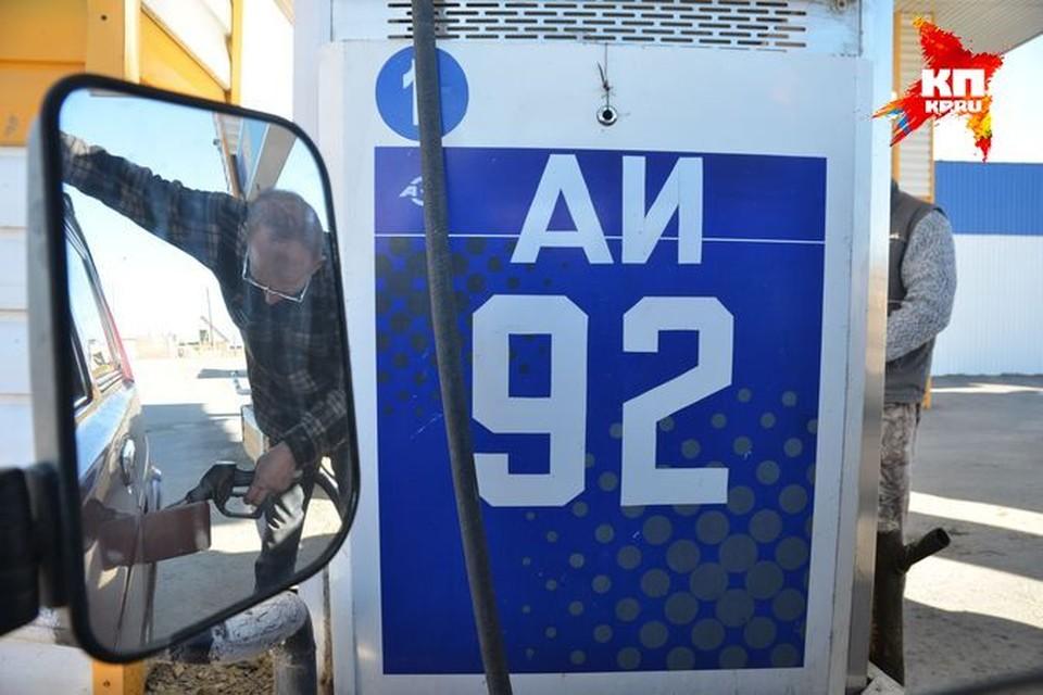 В Новосибирске из-за нехватки бензина могут закрыться большинство заправок.