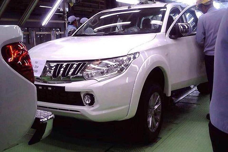 в таиланде начали продавать новый «mitsubishi l200»