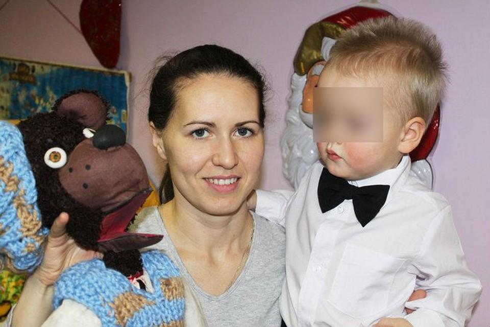 Сыну Оксаны нет и трех лет. Фото: соцсети