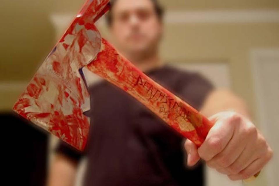 Картинки убийство топором