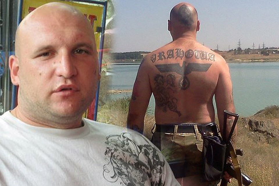 Неонацист Артем Бонов