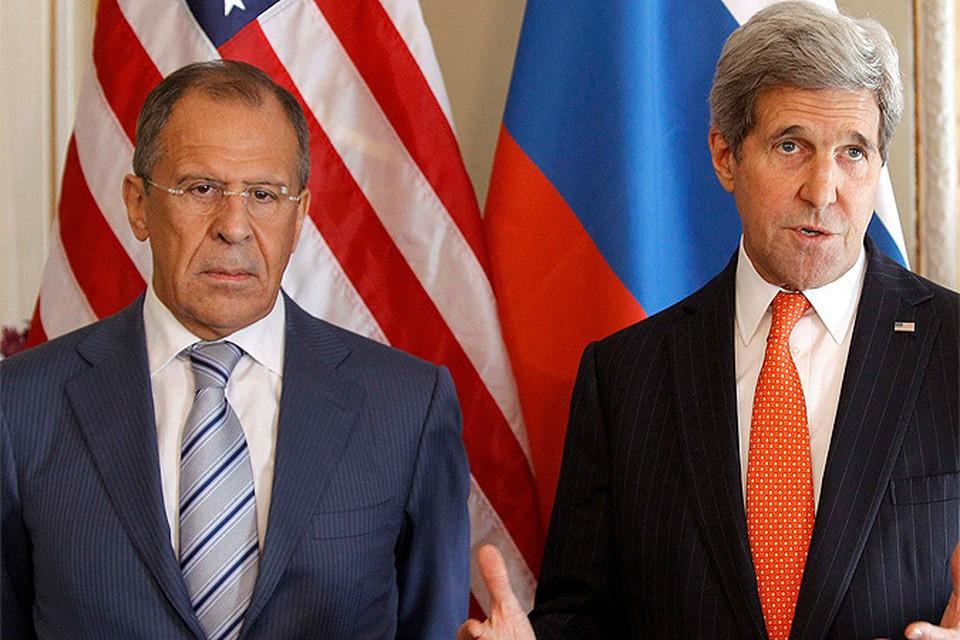 Сергей Лавров - Джону Керри: давление на Россию бесперспективно