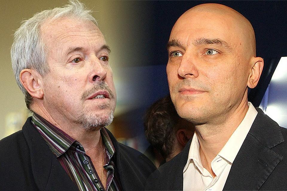 Андрей Макаревич (слева) и Андрей Державин