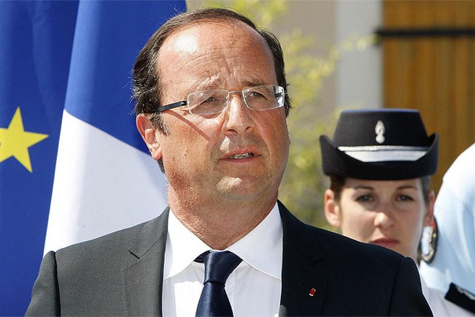 У Франсуа Олланда вновь стремительно падает рейтинг
