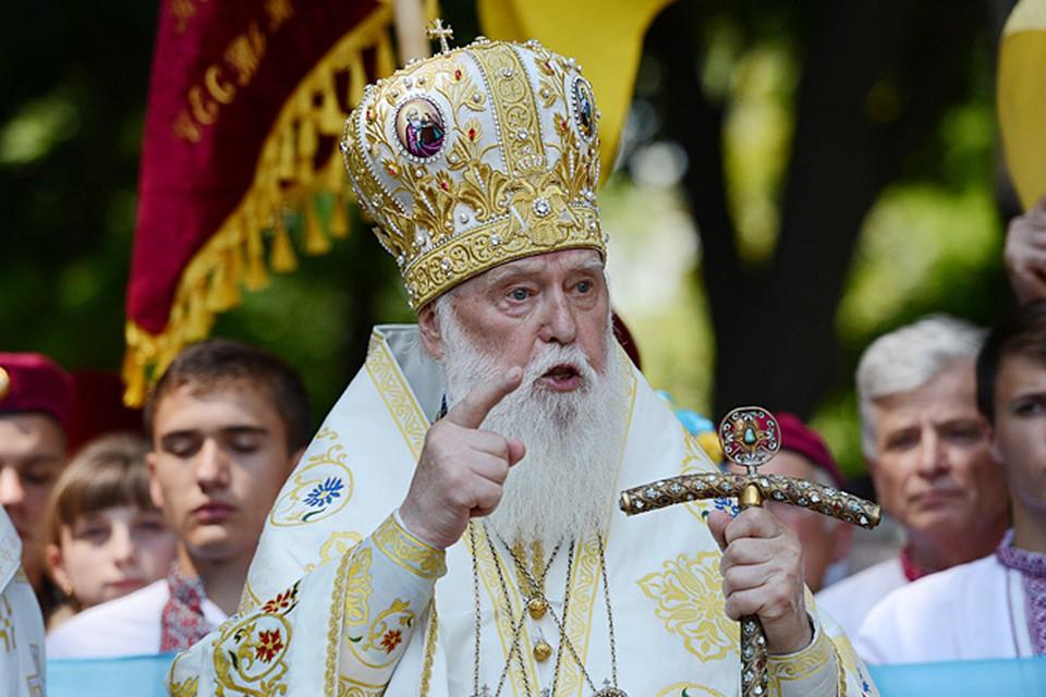 Корень зла находится в тех людях, что живут в Донбассе, и тех, кто находится в Москве, - напрямую заявляет Филарет