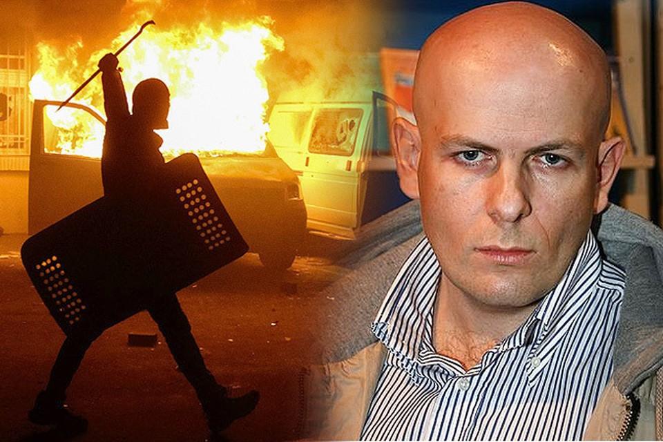 В четверг, 16 апреля, в полдень в Киеве был убит известный украинский журналист, телеведущий и писатель Олесь Бузина