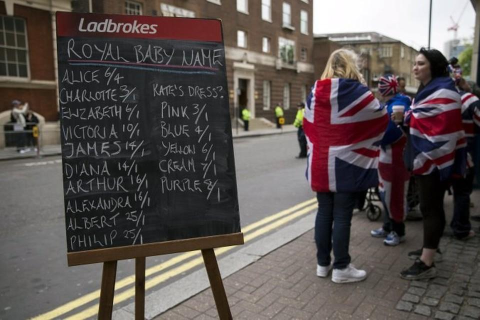 Теперь британцы гадают, как назовут маленькую принцессу