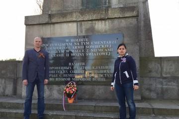 Курская семья нашла в Польше могилу деда, погибшего за несколько дней до Победы