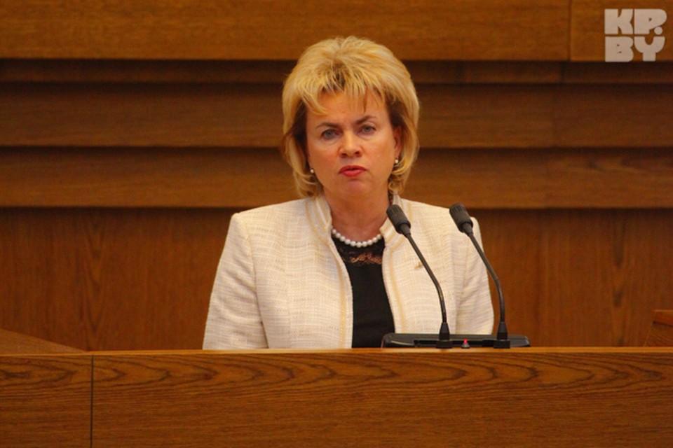 Министр труда и социальной защиты Республики Беларусь Щеткина Марианна Акиндиновна.