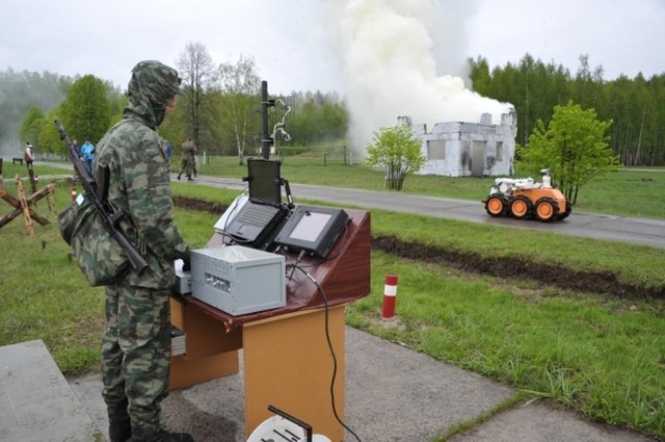 В России научат думать боевых роботов