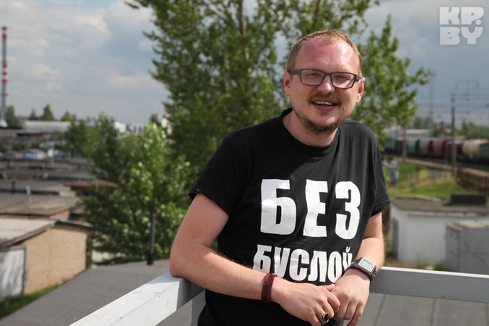 Андрей Курейчик снимает фильм за «три копейки». Фото: личный архив.