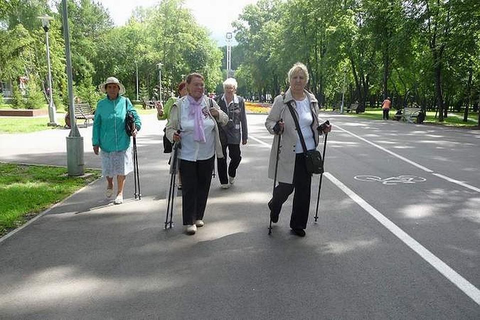 Загаров скандинавская ходьба