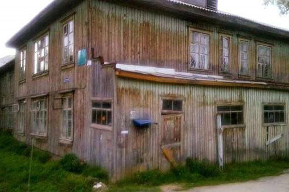 Больница в Аше, похожая на сарай, стала хитом соцсетей. Фото: соцсеть «ВКонтакте»