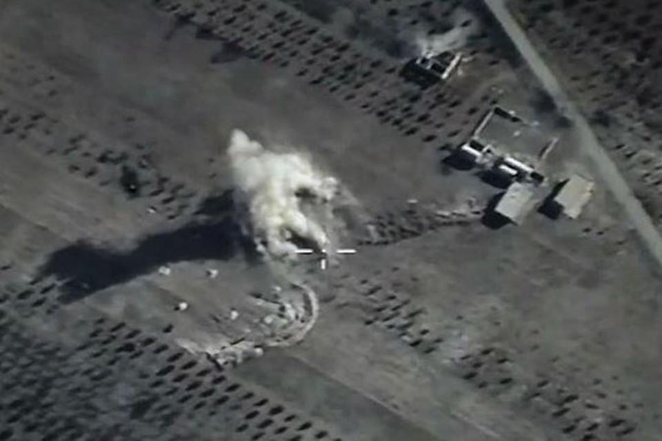 В Сирии удар российской авиации уничтожил лидеров террористической организации