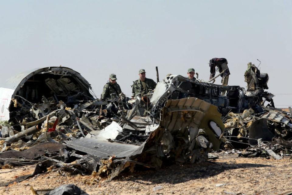 В авиакатастрофе над Синаем погибли 224 человека.