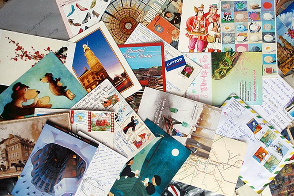 Почтовые открытки послали своим друзьям школьники из разных стран определите