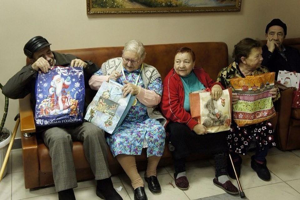 Подарки бабушкам и дедушкам в дома престарелых сценарий концерта для пожилых людей в доме престарелых