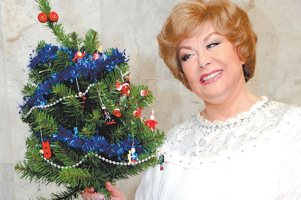 Народная артистка рассказала «Комсомолке», как отмечает Рождество.