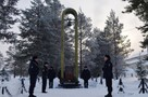 Они остались молодыми: в Покачах почтили память погибших на Кавказе милиционеров