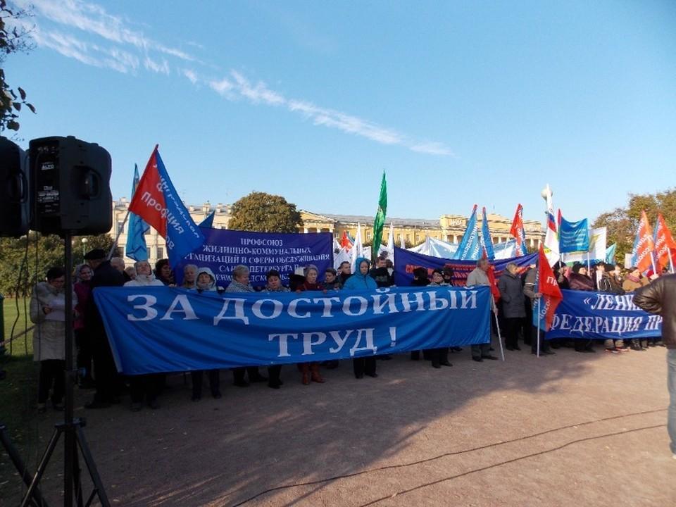 Профсоюз «Горэлектротранса» всегда готов выйти на защиту прав трудящихся в Петербурге.