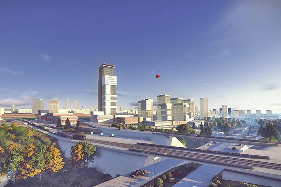 А вскоре в «Кошелев-проекте» к небу взметнутся высотки. Фото: пресс-служба «Корпорации Кошелев».