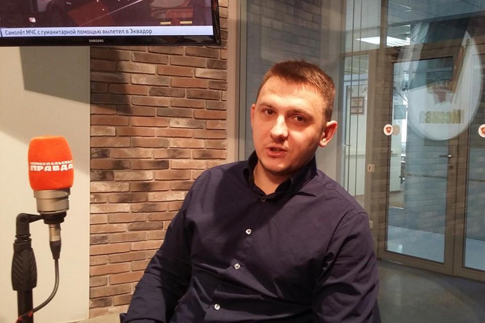 Генеральный директор и основатель компании «CoverWay» в гостях у программы «Важные птицы» на Радио «Комсомольская правда»