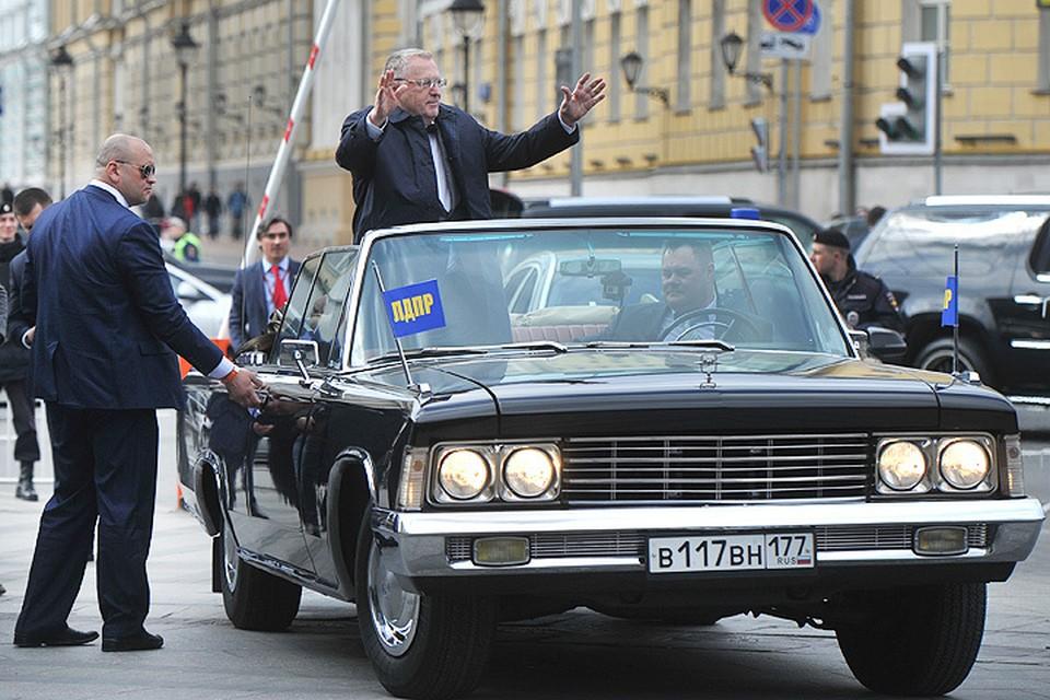 Владимир Жириновский с размахом отметил юбилей.
