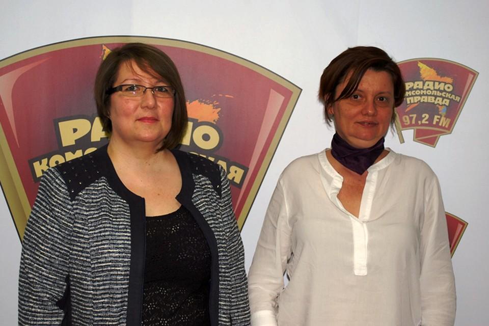 Слева направо - Лариса Мишенина, психолог и Алена Владимирская, специалист по подбору персонала