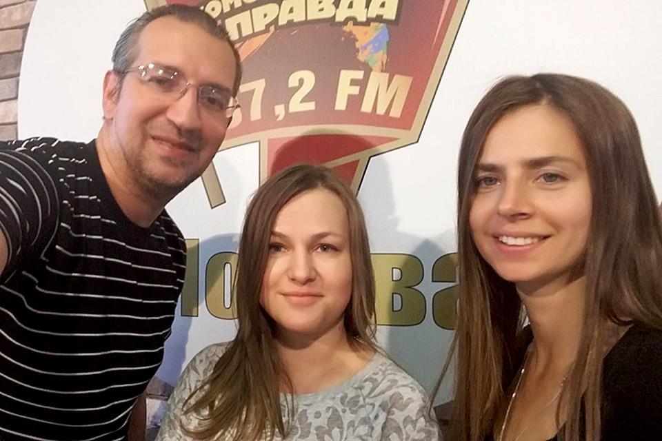 Создатель вещей и аксессуаров для младенцев под брендом MIRMIMI Анна Баранова в гостях у Михаила Антонова и Юли Хожателевой в программе «Важные птицы» на Радио «Комсомольская правда»