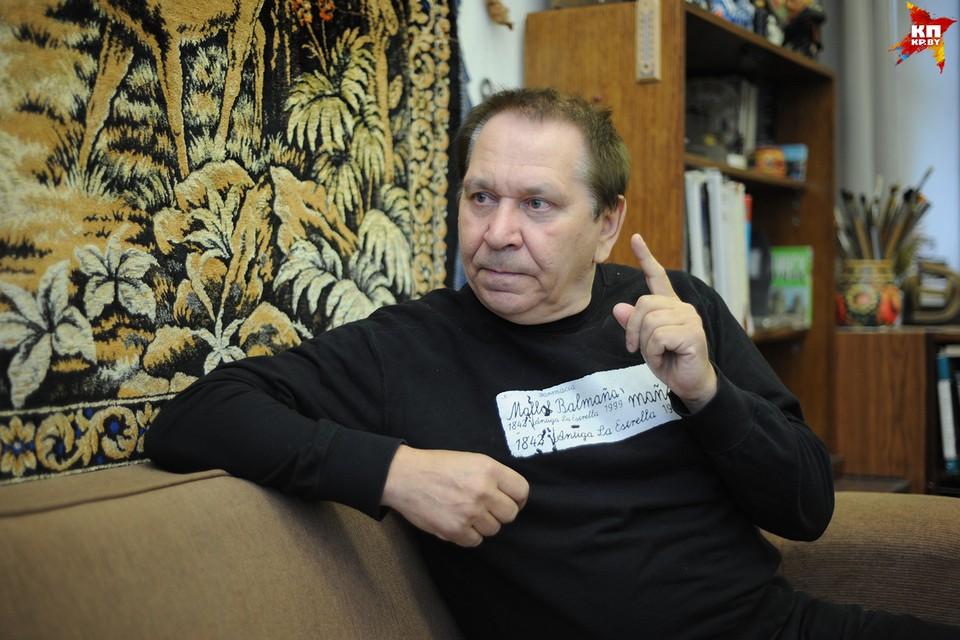 Художник Валентин Губарев.
